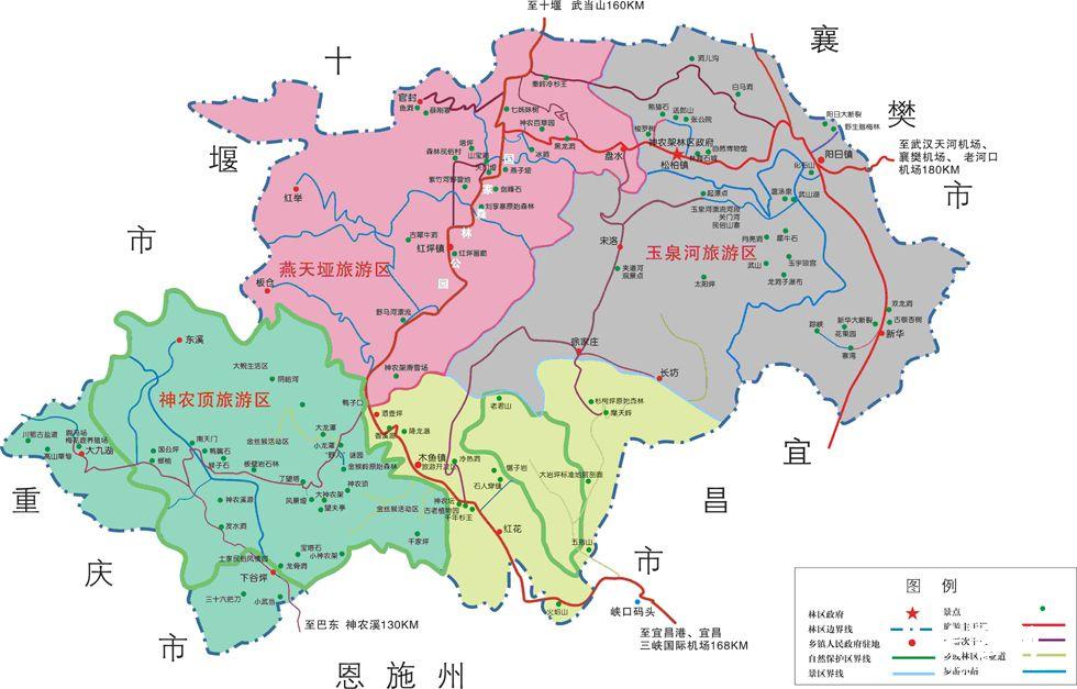 """上海到湖北""""探""""神农架 """"登""""武当山""""游""""三峡大坝双动六日游"""